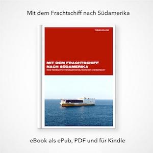 eBook Frachtschiff nach Südamerika
