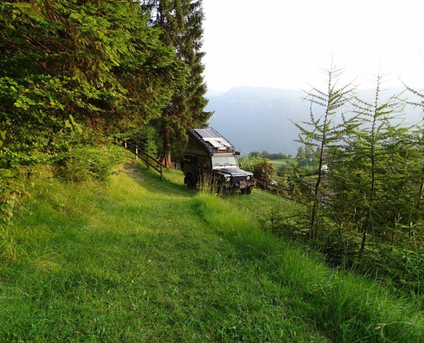 Campingplatz am Fort Gschwent