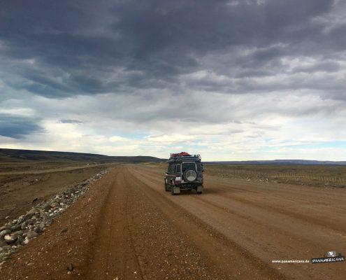 Ruta 40 im südlichen Teil Argentiniens