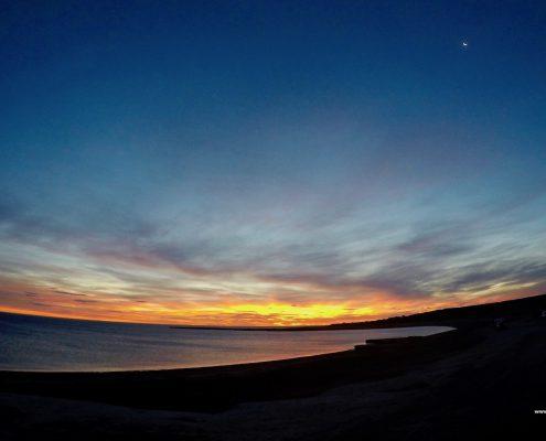 Sonnenuntergang auf Valdés