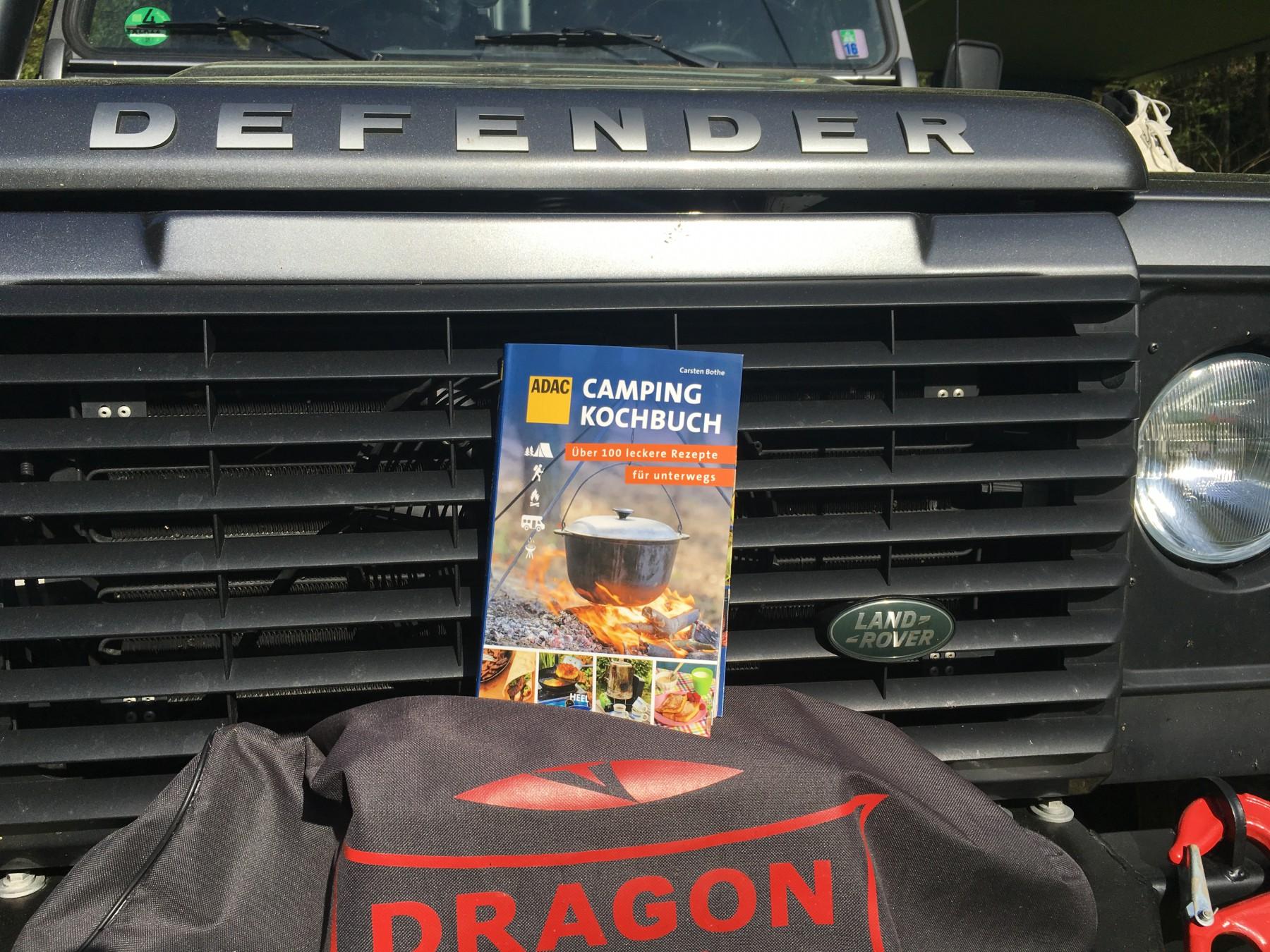 Camping-Kochbuch vom ADAC